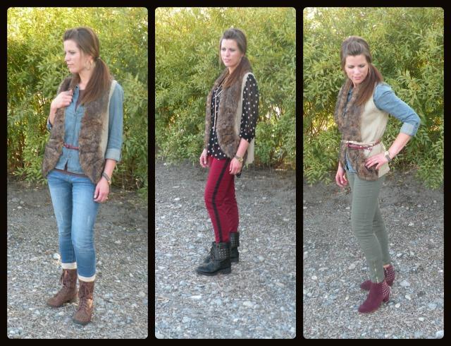 Style Fauz Sure Vest