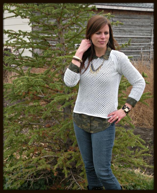 Camo n Sweater 2