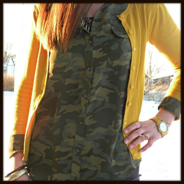 Mustard and Camo