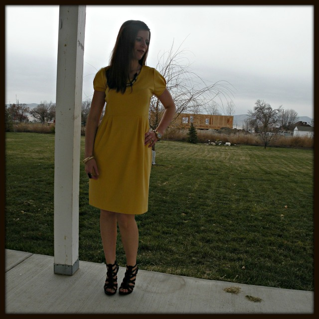 Simple Yellow Dress