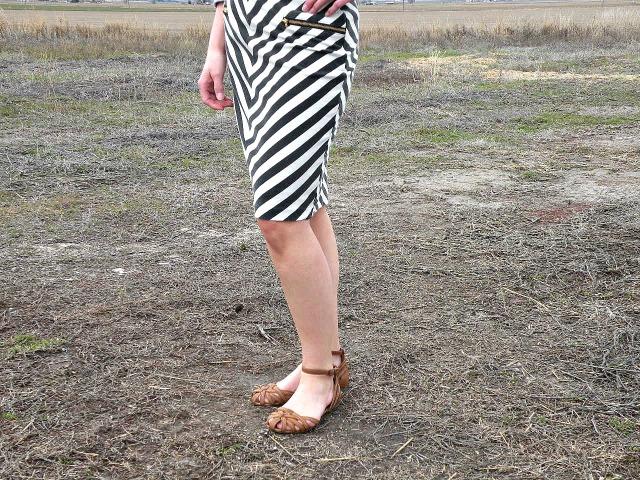 High Contrast Skirt 3
