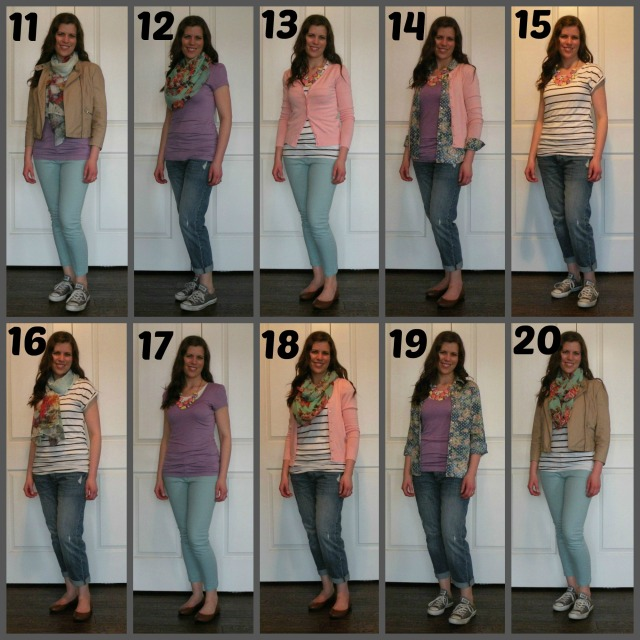 Spring Outfits Numbered 11-20