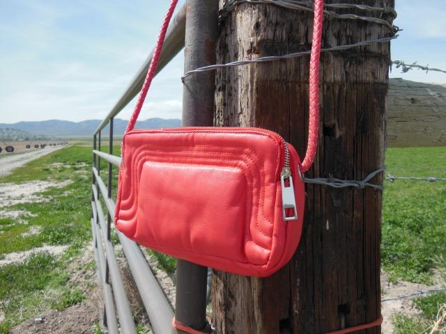 Coral Handbag Giveaway