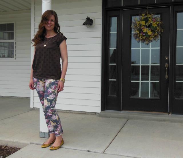 Floral Pants 5