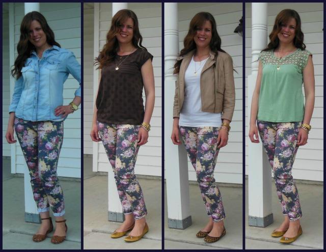 Floral Pants 9