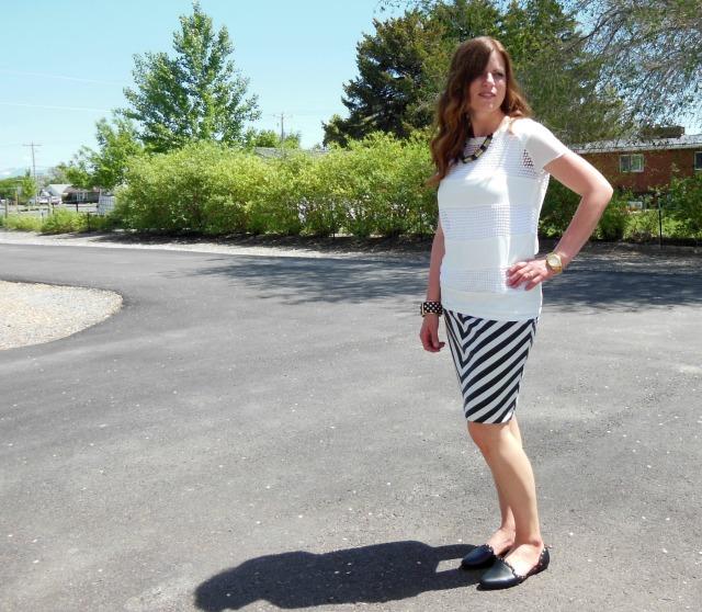 High Contrast Skirt