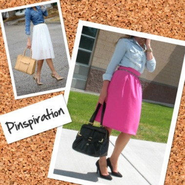 Pinspiration Chambray and Midi