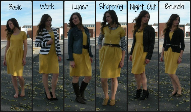 1 Dress Styled 5 Ways
