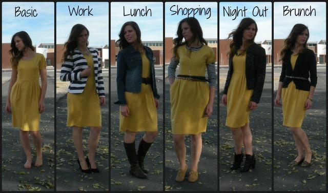 1 Dress Styled 5 Ways