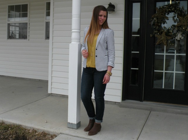 Mustard and Stripes 2