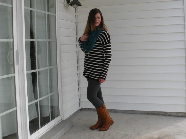 Stripes n leggings