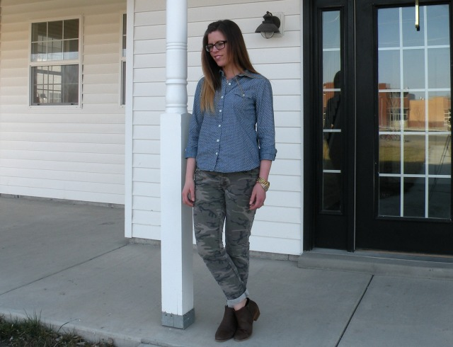 Chambray and Camo 3