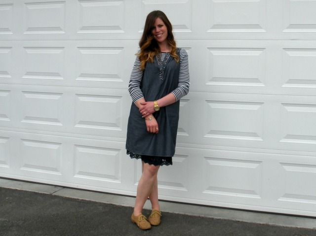 Chambray Shift Dress 3
