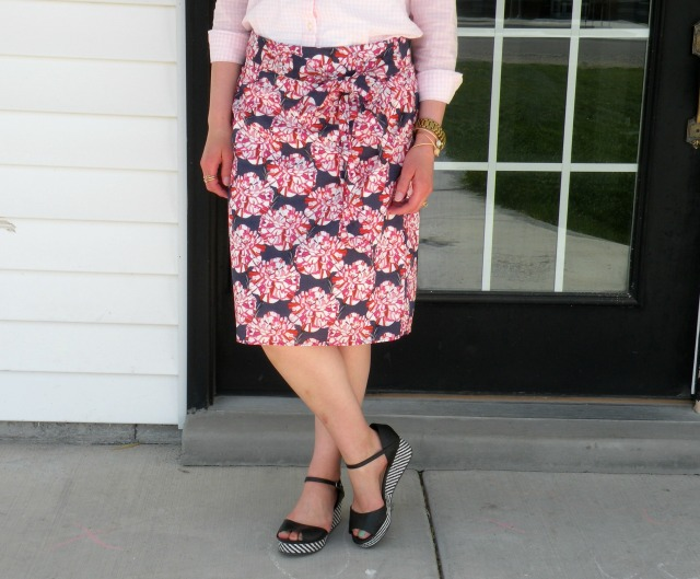 Pink Gingham and Florals 2