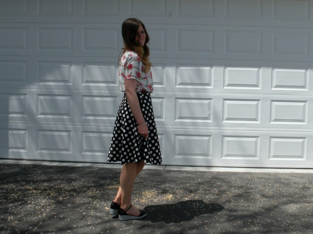 Florals and Polka Dots 2