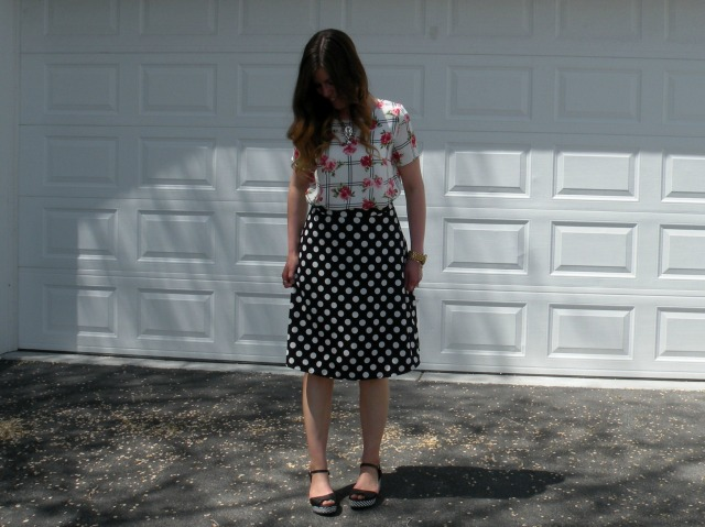 Florals and Polka Dots 3