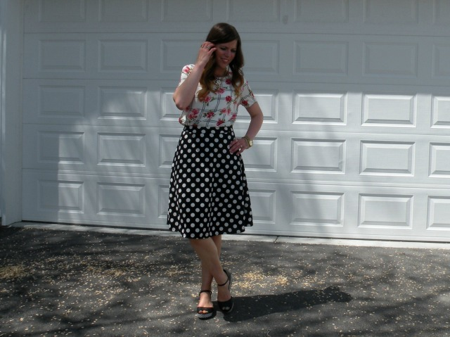 Florals and Polka Dots