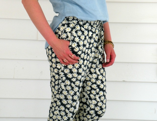 Floral Joggers 4