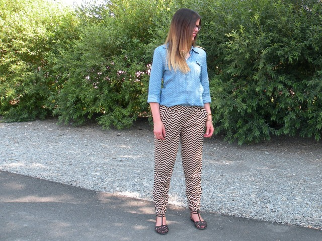 Chevron Pants 3