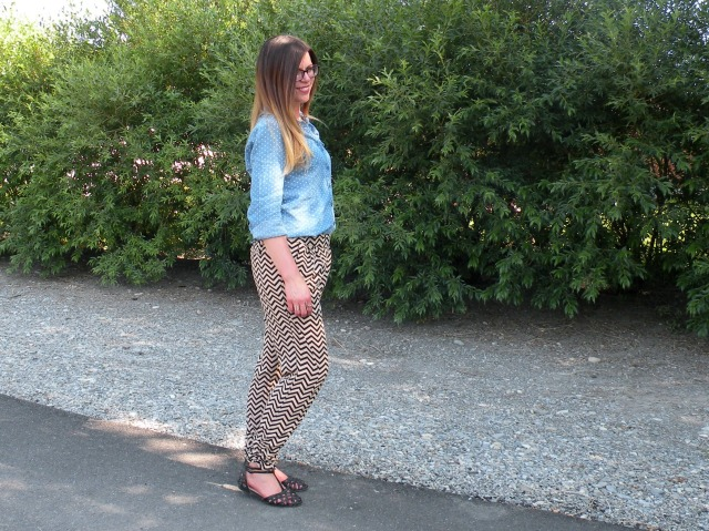 Chevron Pants 4
