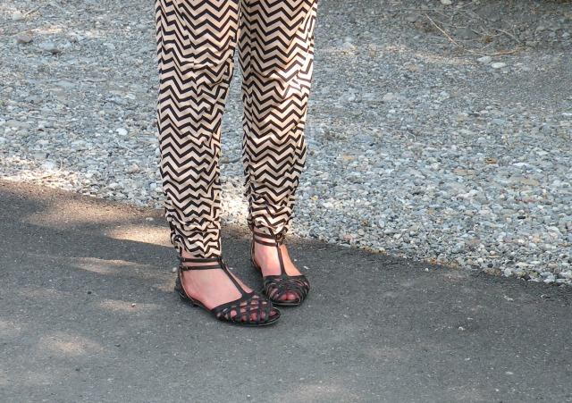 Chevron Pants 5