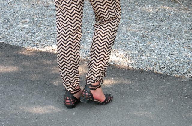 Chevron Pants 6