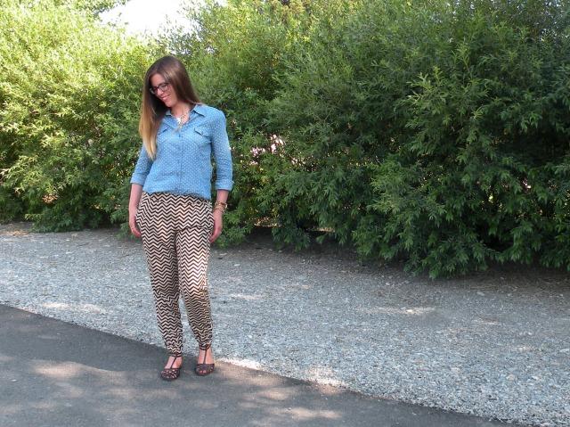 Chevron Pants