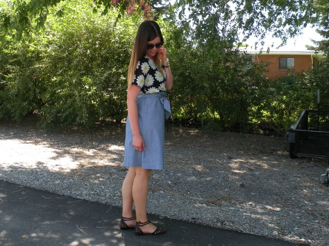 Florals and Chambray 3