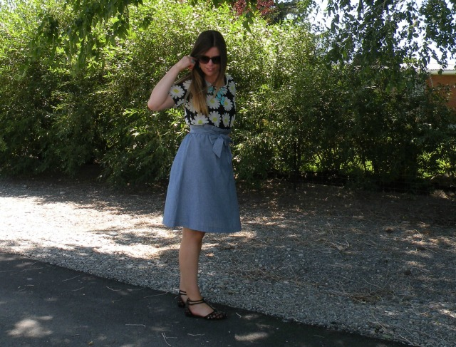 Florals and Chambray